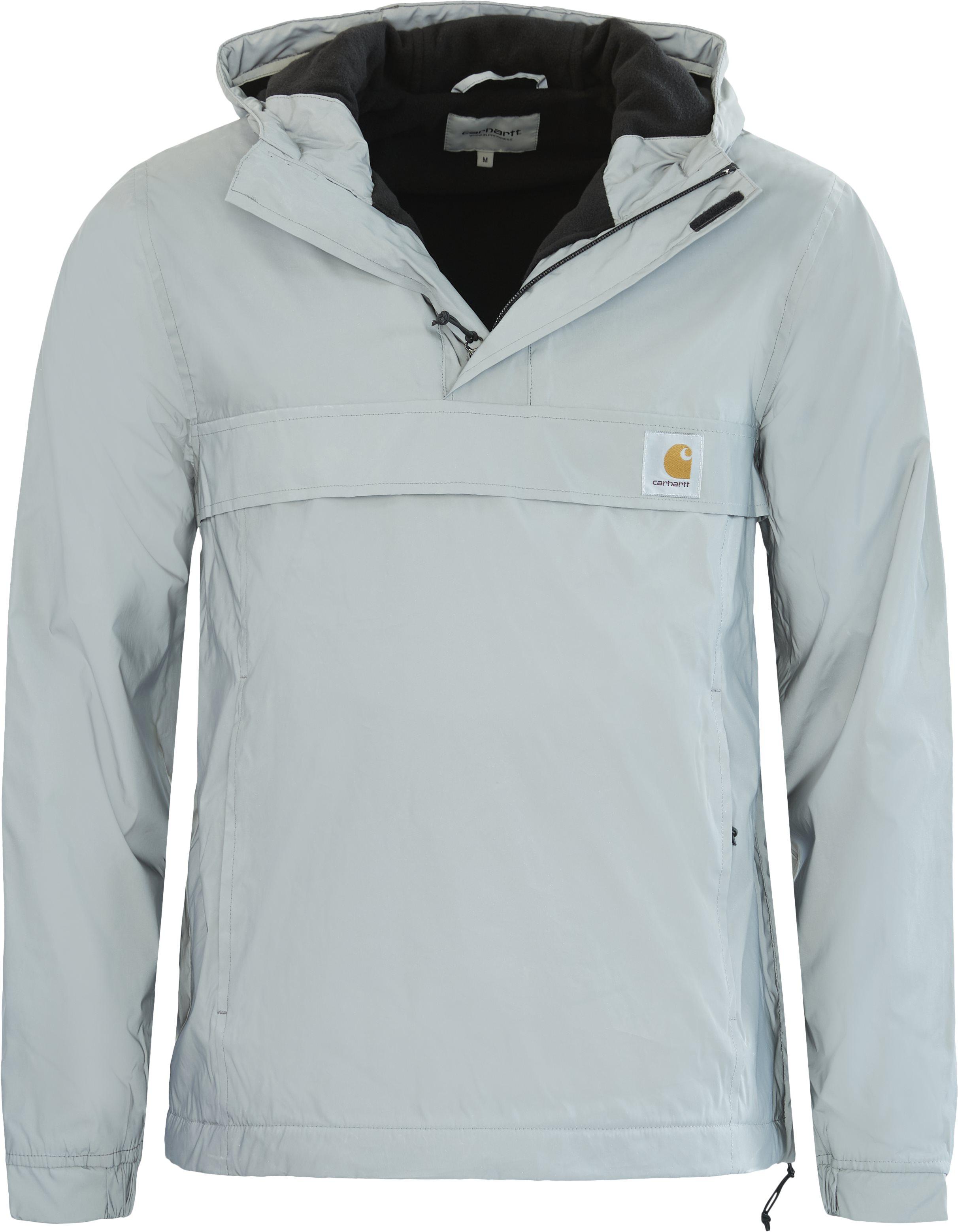 Nimbus Ref. Pullover Anorak - Jackets - Regular - Grey
